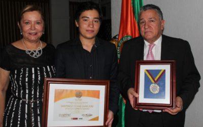 Juan José Santiago Tovar,  orden a la Excelencia Educativa Eduardo Carranza