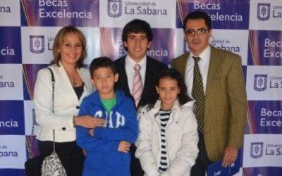 La Universidad de La Sabana otorga la Beca de Excelencia Académica a Mateo Herrera