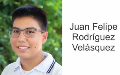 Juan Felipe Rodríguez logra beca en la Universidad de Los Andes