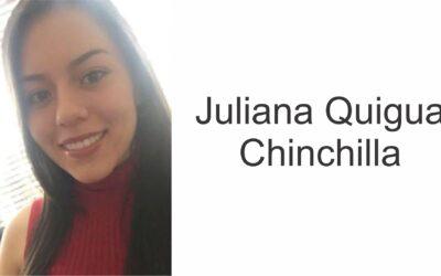 Juliana Quigua, egresada CES se gradúa como economista de la Universidad de Los Andes