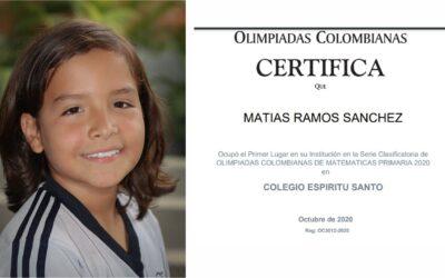 CEES en la final de las Olimpiadas Colombianas de Matemáticas