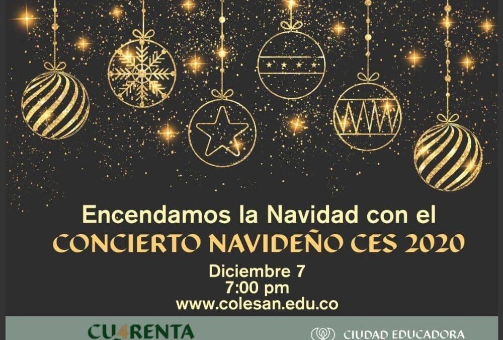 Invitación concierto navideño CES 2020