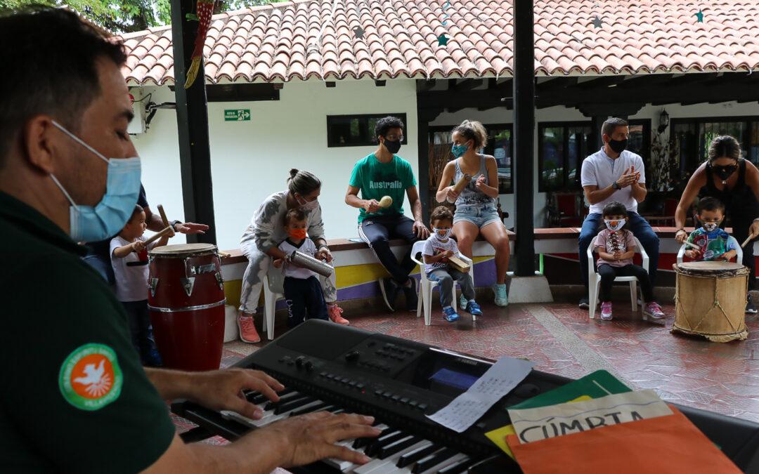 Bienvenida nuevas familias preescolar Ciudad Educadora Espíritu Santo