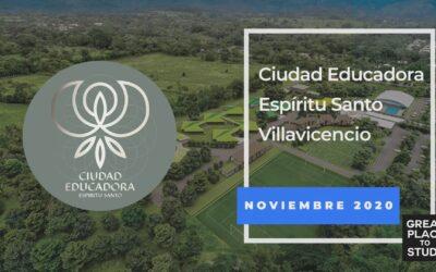 """Ciudad Educadora Espíritu Santo logra la certificación """"Great Place To Study"""""""