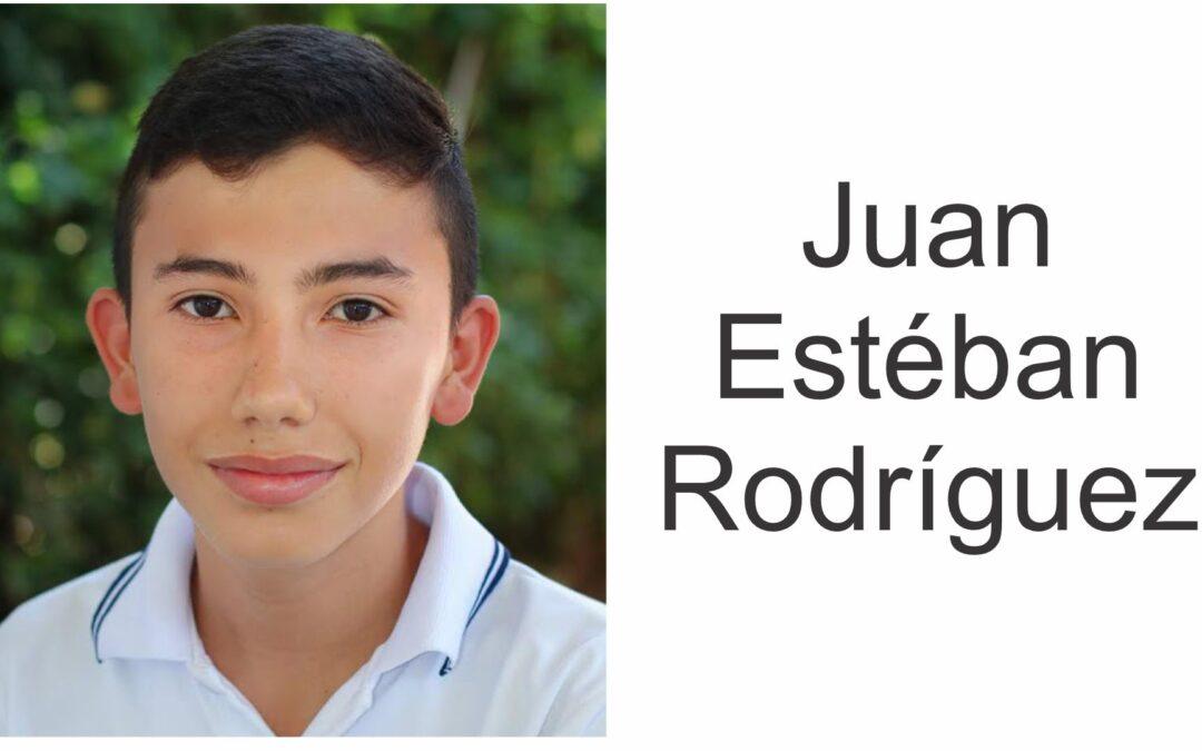 Juan Estéban Rodríguez, beca de excelencia Universidad de La Sabana