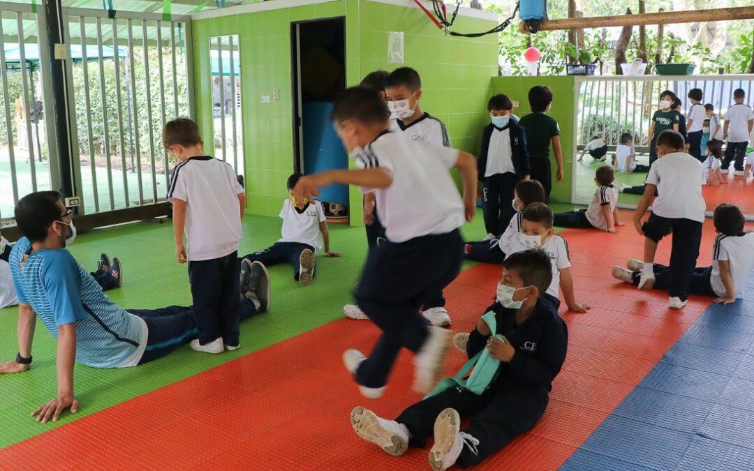 Desarrollo motor en Preescolar Ciudad Educadora Espíritu Santo