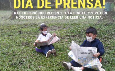 Día de prensa en Preescolar